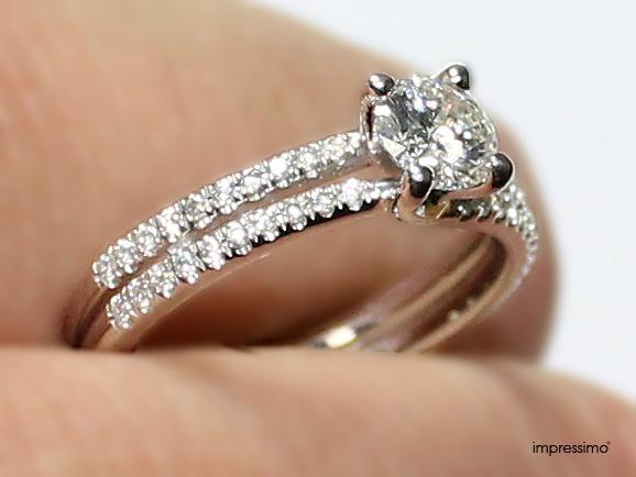 Diamonds Ring by Impressimo