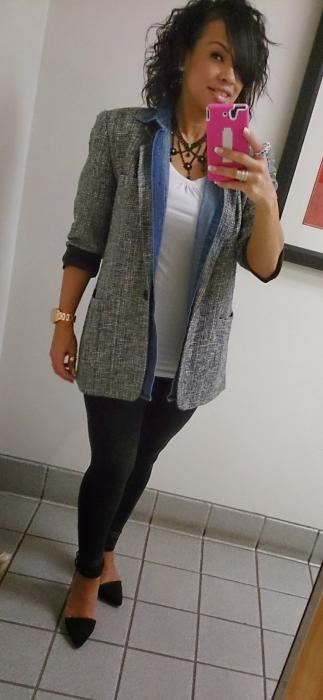 Today's Look: Layering!