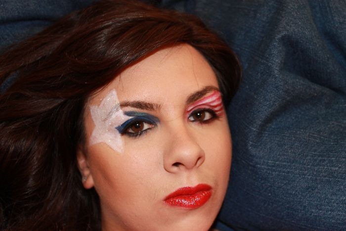 Fourth of july makeup ideas